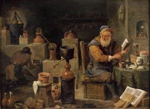 Lalchimiste David Teniers II