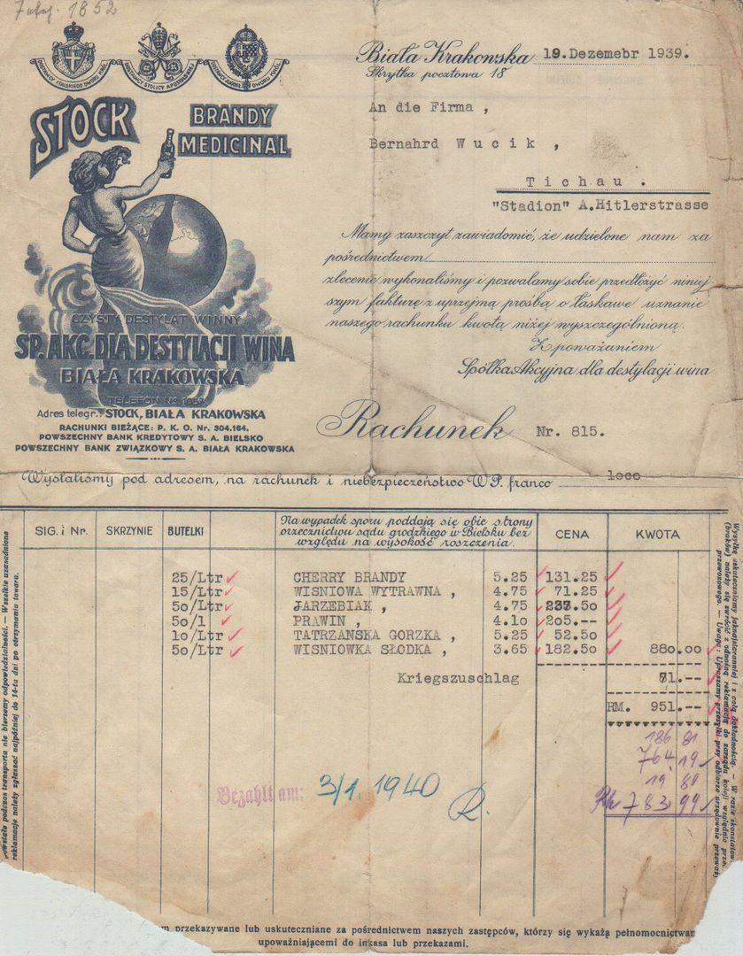 Stock Biała Krakowska 19.12.1939 [Desktop Resolution]