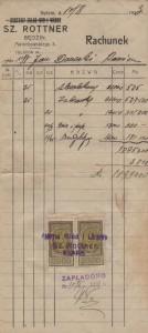 Sz. Rottner, Będzin 10.08.1923 [Desktop Resolution]