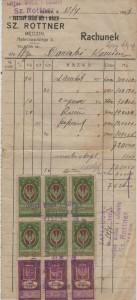 Sz. Rottner, Będzin 12.04.1923 [Desktop Resolution]