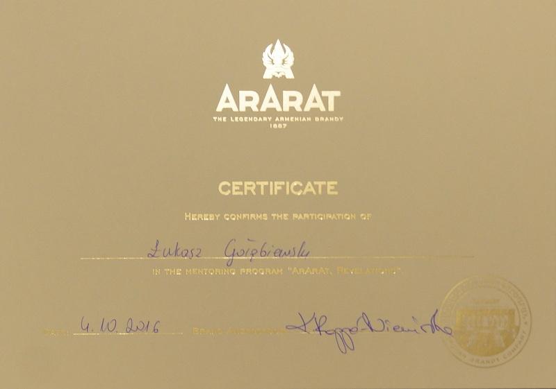 ararat-certificate