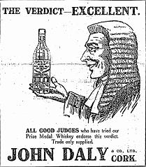 1916_The_Verdict_Excellent_John_Daly_Whiskey